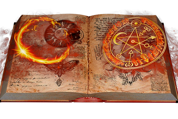 Книга заклинаний ведьмы